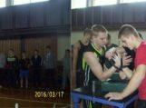 VI-asis tradicinis Šilutės rajono jaunimo rankų lenkimo sporto čempionatas