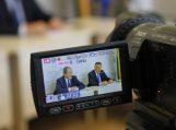 Spaudos konferencijoje – apie projektų įgyvendinimą bei Kintų stovyklos likimą