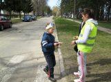 Mokėsi saugaus ir pagarbaus elgesio gatvėje