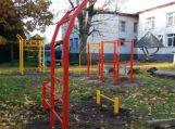 Žaidimų aikštelė Saugų vaikų globos namų vaikams