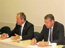 Savivaldybės vadovų susitikimas su žiniasklaidos atstovais