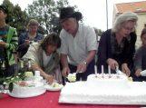 Didžiausi sveikinimai ir balčiausias tortas 10-mečio proga