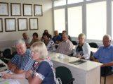 Savivaldybės vadovų ir seniūnų susitikimas dėl žemdirbių šventės