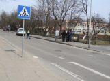 Prie nereguliuojamų pėsčiųjų perėjų patruliavę policijos pareigūnai fiksavo KET pažeidimus