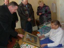 Šimtametė senolė sulaukė sveikinimų ne tik iš namiškių