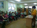 """Susitikimas su """"Sodo šeimynėlė"""" autore Gardamo bibliotekoje"""