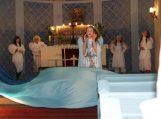 Spektaklis vaikams ir ne vaikams Saugų bažnyčioje