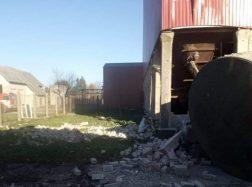 Grabupiuose kiaulių auginimo komplekse  nugriaudėjo sprogimas