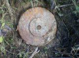 Nemuno pakrantėje žvejai rado pavojingą vokišką miną