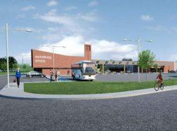 Pristatyti tolimesni Šilutės autobusų parko ir stoties darbai