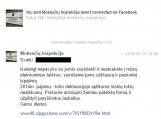 """Prisidengę VMI vardu sukčiai siuntinėja žinutės """"Facebooke"""""""