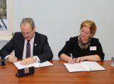 Pasirašyta bendradarbiavimo sutartis su Lietuvos verslo kolegija