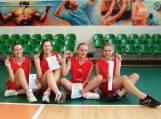 Švėkšnos gimnazizstės krepšinio 3×3 varžybose iškovojo sidabro medalius