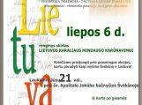 Švėkšniškiai minės Lietuvos karaliaus Mindaugo karūnavimo dieną