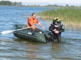 Ieškomas į upę iš laivo įkritęs žvejys