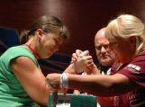 Eglė Vaitkutė XXI Europos rankų lenkimo čempionate apgynė čempionės vardą