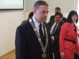 Prisiekė VII Šilutės r. savivaldybės taryba, meru perrinktas Virgilijus Pozingis