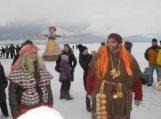 Ventėje ant Kuršių marių ledo Užgavėnės šurmuliavo penktą kartą (video, nuotraukos)