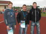 Iš Jurbarko – su medaliais
