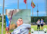 100 metų  Lietuvos lengvosios atletikos čempionato sukakčiai  MARIUS RUDZEVIČIUS tapo čempionu