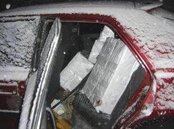 Po gaudynių sulaikyti trys kontrabandines cigaretes gabenę šilutiškiai