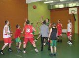 Krepšinio aikštelėje Pagėgių pasieniečiai džiugino vaikus