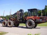 Į Rusiją vykusio traktoriaus miškovežio identifikavimo numeris – perkaltas