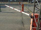 Girtutėlis motociklininkas apgadino Panemunės punkto užtvarą