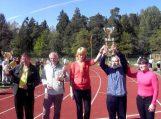 Žemaičių Naumiesčio gimnazijos sportininkai iškovojo didžiąją taurę