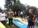 Ekologinis žygis Nemuno deltoje su ekstremaliais pojūčiais (video)