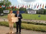 Šilutės rajono savivaldybei 2006 m. įteiktas Europos Diplomas.