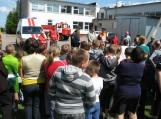 Pratybos įvyko pagal scenarijų, incidentų neiškilo, vaikai iš mokyklos evakuoti saugiai