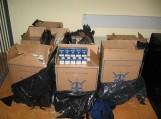 Skirvyte plaukikas iš Rusijos atitempė 8 dėžes cigarečių