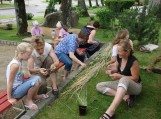 Liaudies amatų stovykla Vainute