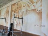 Statybininkai žada išsaugoti freskas