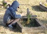 Jau sužibo Vėlinių žvakutės ant beglobių kapų