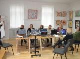 """Paskaita Pagėgių krašto bibliotekininkėms """"Bendravimo įgūdžių tobulinimas"""". Lektorė – psichologė Lina Smailytė (Vilnius)."""