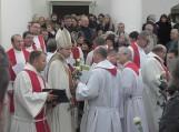"""Reformacijos ir savaitraščio """"Svečias"""" 100 metų paminėjimo šventė Žemaičių Naumiestyje."""
