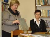 Reprezentacinės knygos pristatytos lumpėniškiams