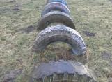 Šios padangos turi būti utilizuotos ir negali būti naudojamos kaip švietimo įstaigų aplinkos puošybos elementas ar vaikų žaidimams