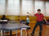 Traksėdžių pagrindinėje mokykloje rinkosi Šilutės rajono mokyklų mokinių stalo teniso entuziastai