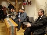 Susitikimas su naftininkais įvyko balandžio 12 d. Vydūno kultūros centre