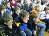 Ir vaikai, ir suaugę atidžiai klausėsi M. Budraičio minčių, kūrybos