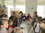 Jaunieji bibliotekos lankytojai Kraštotyros fonde