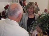 Naujoji merė D. Žebelienė priima kolegų sveikinimus