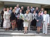 Tarybos nariai nusifotografavo su naujai išrinkta mere D. Žebeliene