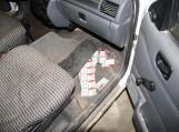 Šilutiškio automobilyje pasieniečiai rado kontrabandinių rūkalų