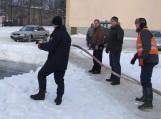 Šilutėje išlieta čiuožykla