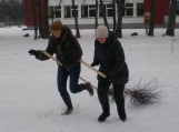 Šeimų žiemos sporto šventė Usėnuose