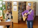 Pasaulinės poezijos dieną skambėjo eilės ir muzika